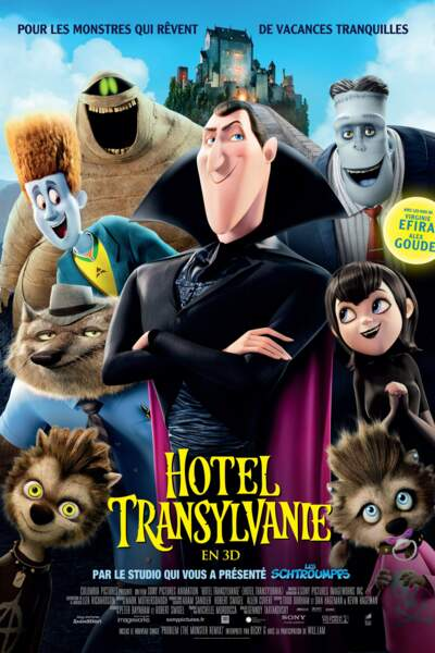 En 2013, sort sur les écrans français Hôtel Transylvanie