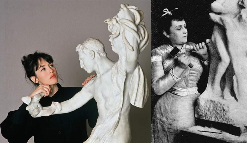 L'artiste Camille Claudel, amoureuse malheureuse d'Auguste Rodin, qui sera enfermée par les siens jusqu'à sa mort