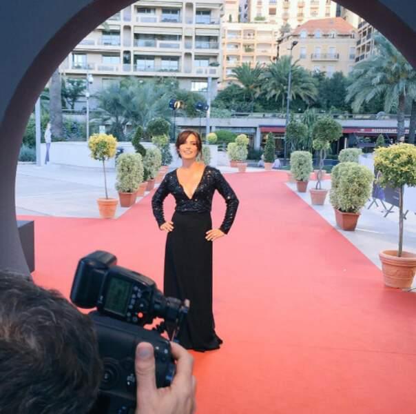 Laetitia Milot sur le tapis rouge de Monte-Carlo...