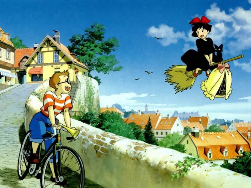 Kiki la petite sorcière (1989) : Cette fois, l'objet volant est un balais !