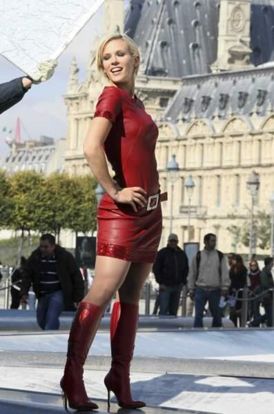 Les américains la voient comme une frenchy sexy !