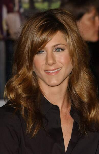 Et Jennifer Aniston ? La voici en 2004 (34 ans)