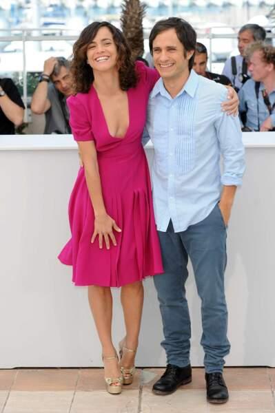 Ici avec sa partenaire dans le film, Alice Braga.