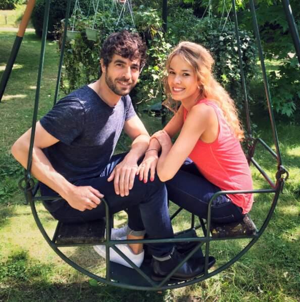 Dernière scène entre Agustin Galiana et Elodie Fontan avant de se retrouver en septembre