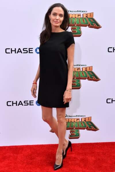 Angelina Jolie, plutôt sobre