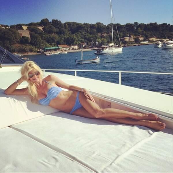 Victoria Silvstedt continue de nous narguer avec ses vacances de rêve. #Déprimant