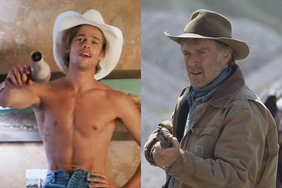 En chapeau de cowboy : Brad Pitt dans Thelma et Louise. Robert Redford dans Une vie inachevée