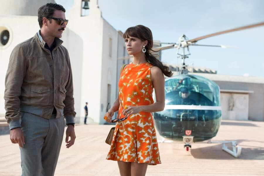 Guy Ritchie lui confie un premier rôle féminin rétro dans Agents très spéciaux (2015)