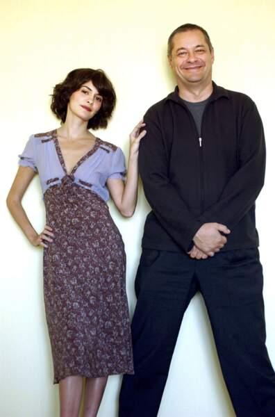 La pétillante Audrey Tautou, inoubliable Amélie Poulain, a joué dans deux films de Jean-Pierre Jeunet.