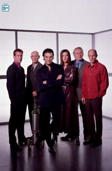 La série Le Caméléon (The Pretender) a duré 4 saisons et elle a été diffusée de 1996 à 2000