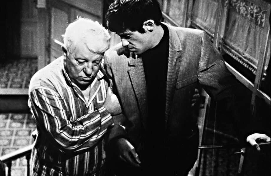1962 : Henri Verneuil lui offre de donner la réplique à un monstre du cinéma français, Jean Gabin
