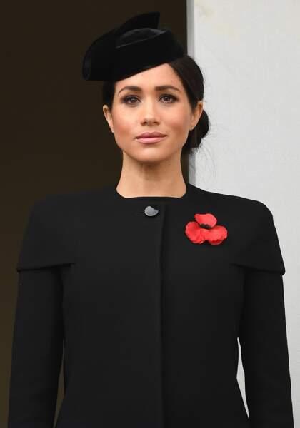Meghan Markle avait elle aussi respecté le dress code black