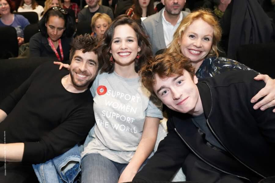 Dans la joie et la bonne humeur, les acteurs de Clem ont répondu présent au festival pour la saison 9 de la série