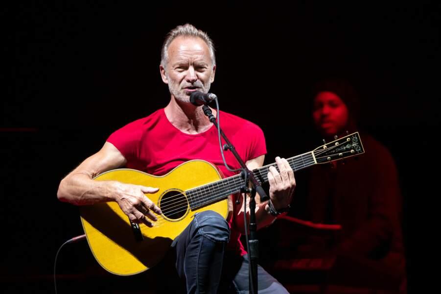 Sting aussi est aussi né un 2 octobre