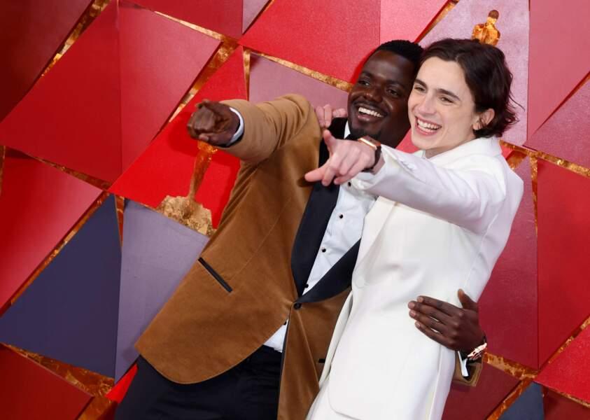 Daniel Kaluuya et Timothée Chalamet, nommés tous les deux pour l'Oscar du Meilleur acteur