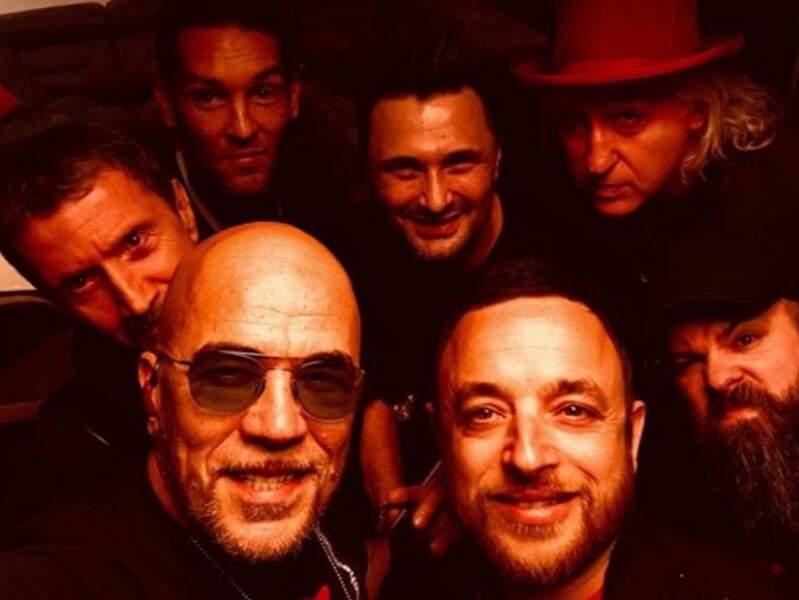 Déglingo, Pascal Obispo se la joue Orange Mécanique avec son gang...