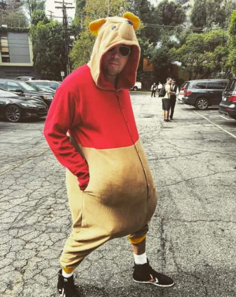Channing Tatum a opté pour un costume Winnie l'ourson (pas vraiment mignon)
