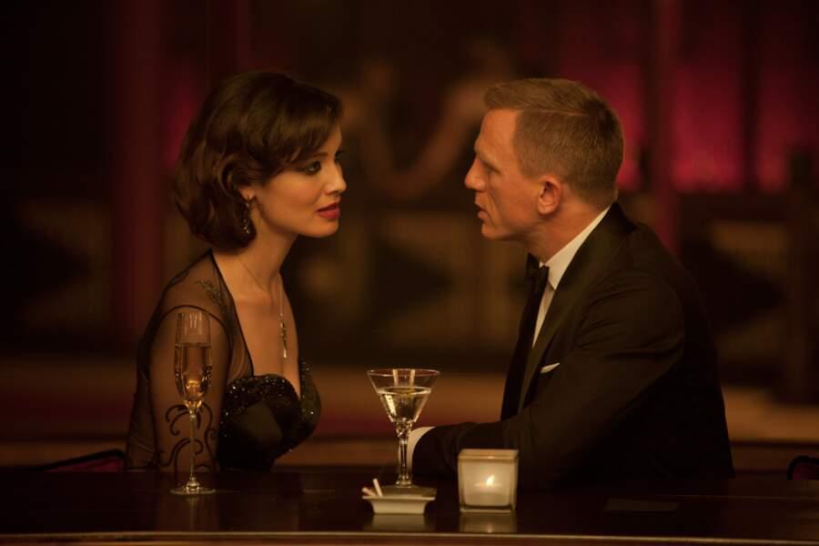 Skyfall (2012) : Bérénice Marlohe et Daniel Craig