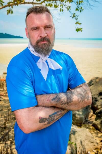 Jean-Luc, candidat de Koh-Lanta : l'île au trésor