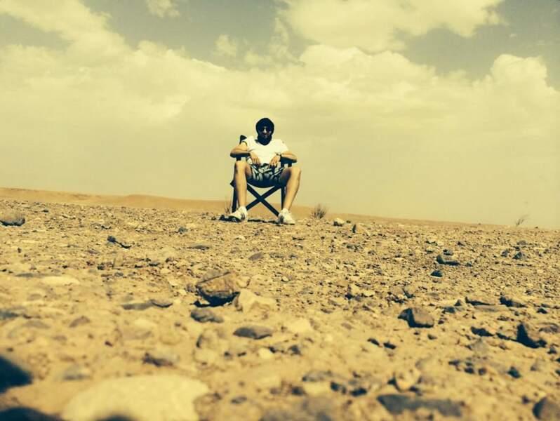 """""""Quand t'es dans le désert""""..."""