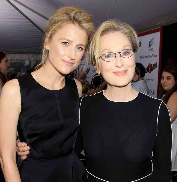Mamie Gumer est le portrait craché de sa mère, la talentueuse Meryl Streep !