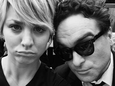 Kaley Cuoco (The Big Bang Theory) ose le rose !