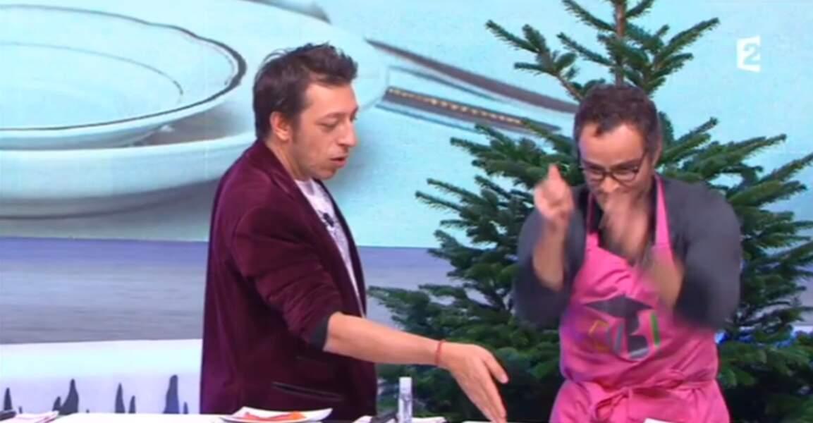 Et on termine avec la veste en velours rouge de Benoît Chaigneau. Un must-have de l'automne !