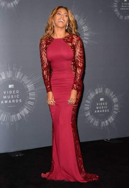 Beyoncé, toujours divine quelle que soit sa tenue.