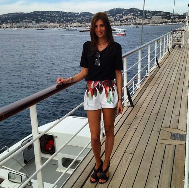 Alexandra Rosenfeld, elle, continue de voguer sur le bateau de la Villa Schweppes