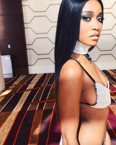 Et Keke Palmer (Scream Queens) a rendu hommage à Aaliyah dans le clip du tube Try Again.