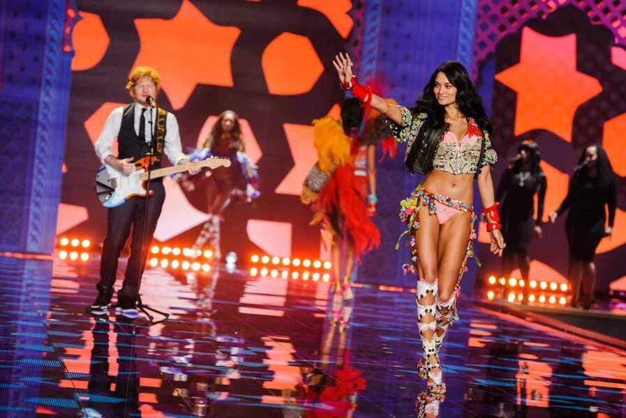 Ed Sheeran était présent pour faire le show ! Le chanceux...
