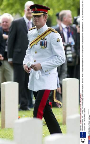 Le Prince Harry en visite en Italie en mai 2014