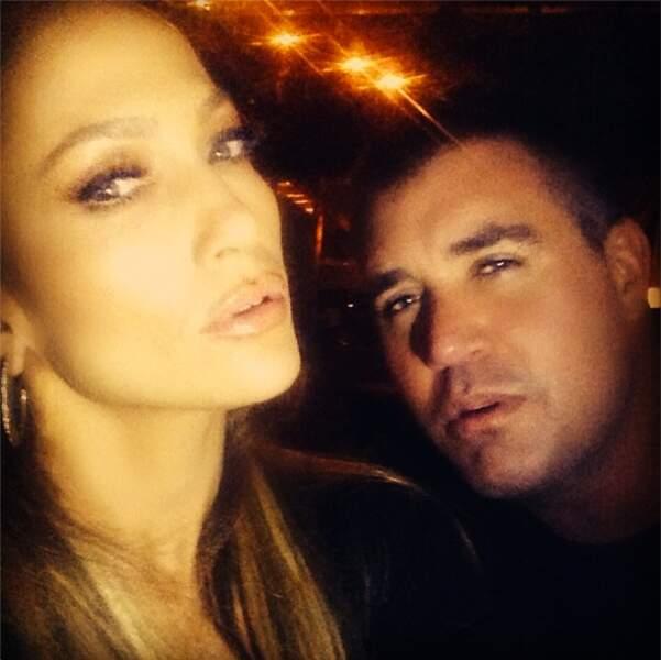 Quand Jennifer Lopez se la joue sexy en soirée