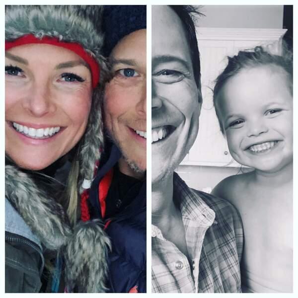 Père et mari, Scott Wolf (La Vie à cinq, Night Shift) a toujours le sourire grâce à sa famille