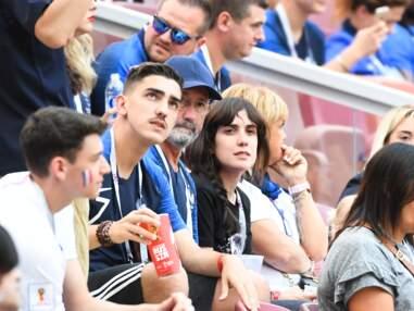 Danemark-France : Jennifer Giroud, Erika Chopenera et la famille de Grizou, le père de Mbappé... Les proches des Bleus dans les tribunes !