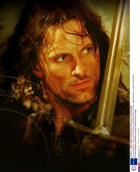 On ne présente plus Viggo Mortensen, alias le beau et brave Aragorn