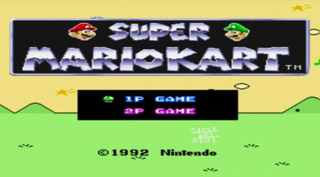 1993 - Super Mario Kart (Super Nintendo)