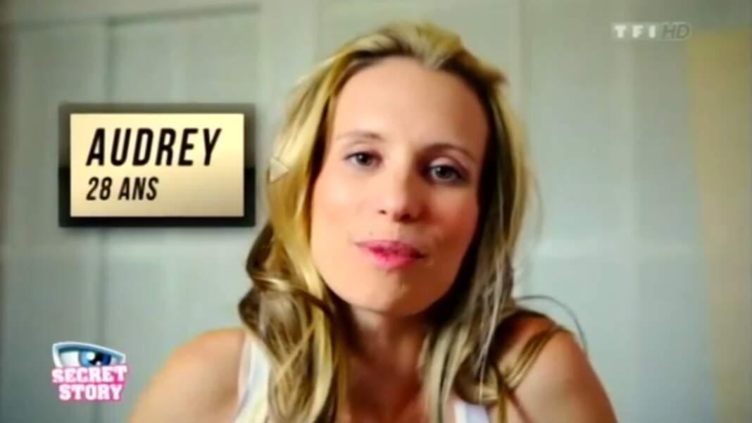 """Audrey (Saison 6). Son secret : """"Je suis une habitante de la Secret Box"""""""