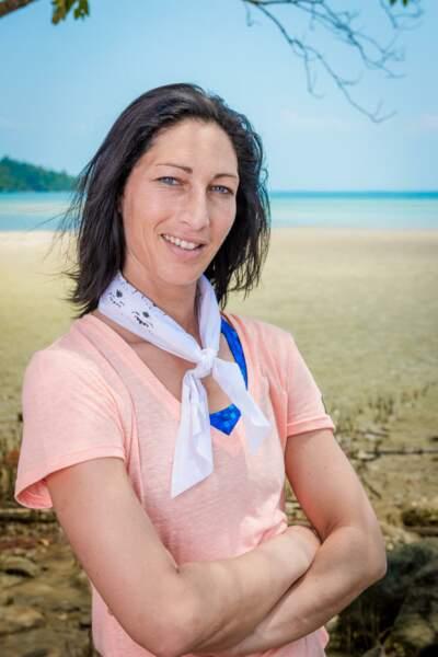 Sandrine, candidate de Koh-Lanta : l'île au trésor