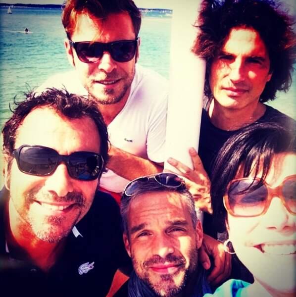 Philippe a des amis dans le showbiz : Bernard Montiel, Liane Foly...