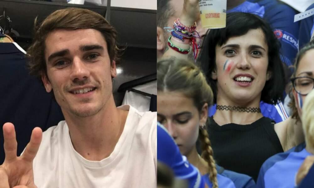 Le footballeur Antoine Griezmann et sa sœur Maud