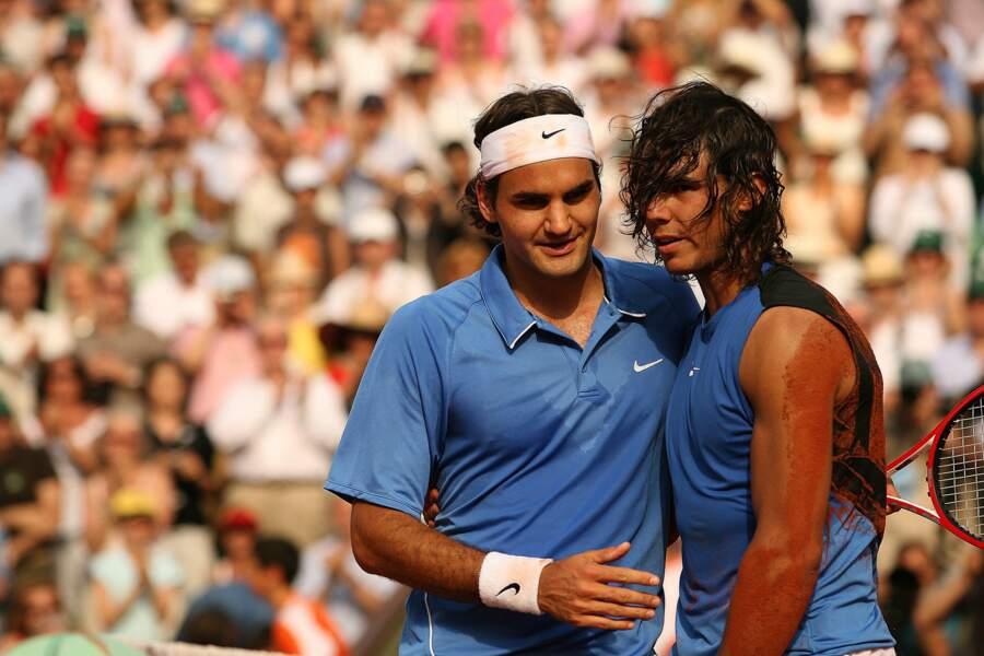 2006 : Rafa gagne contre Federer lors de leur première finale à Roland-Garros