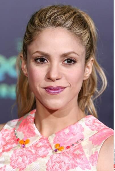Shakira bien pomponnée...