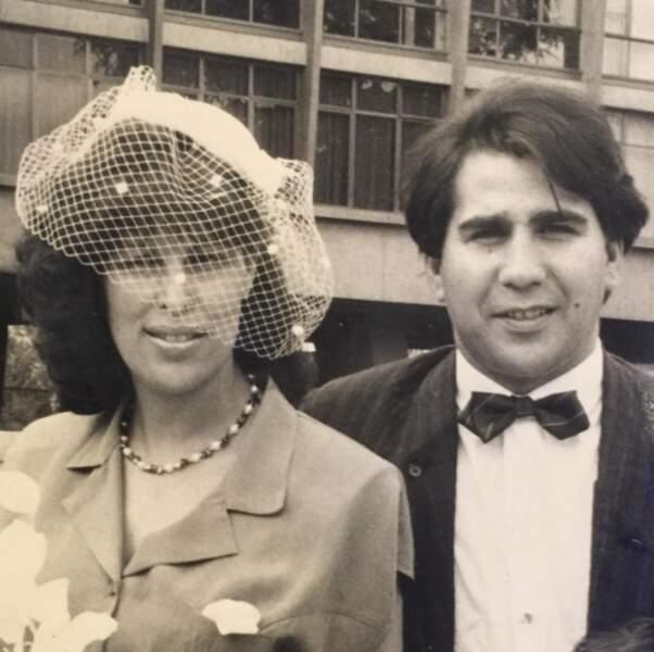 Ayem a ressorti une photo vintage de ses parents.