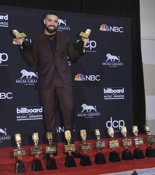 Drake, grand vainqueur de la soirée