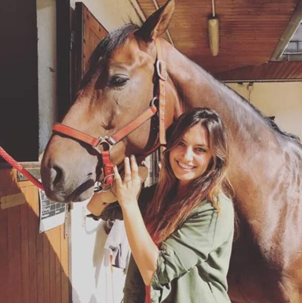 Laeticia Millot est elle aussi l'amie des bêtes