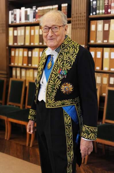 Alain Decaux, écrivain et académicien, est mort le 27 mars 2016. Il avait 90 ans