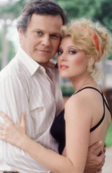 Afton (Audrey Landers), incarnait la petite amie de Cliff Barnes