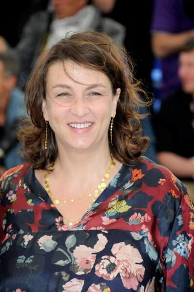 Noémie Lvovsky (Camille redouble), toute souriante