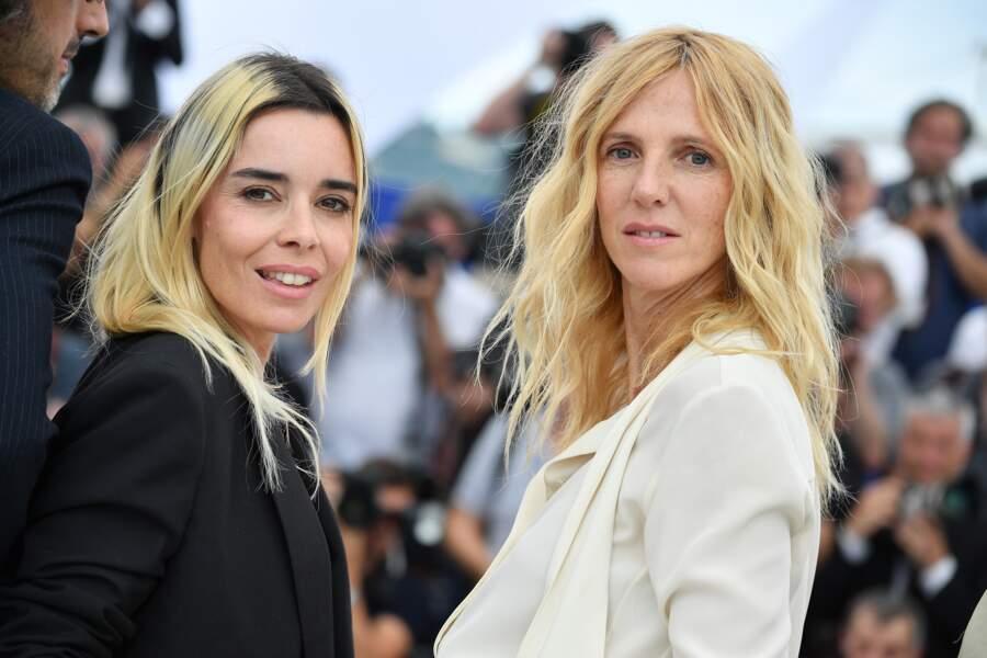 Elodie Bouchez et Sandrine Kiberlain, membres du jury, ont pris la pose côte à côte